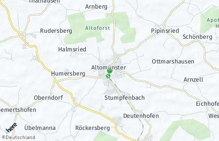 Stadtplan Altomünster