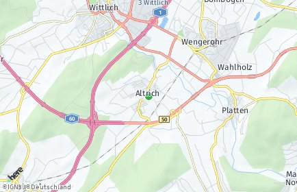 Stadtplan Altrich