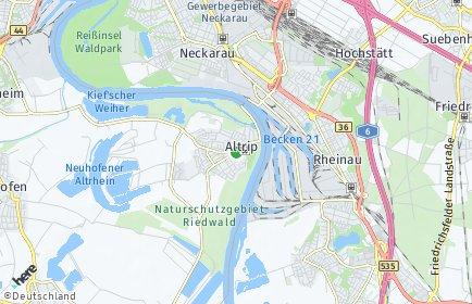 Stadtplan Altrip