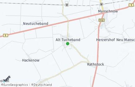 Stadtplan Alt Tucheband