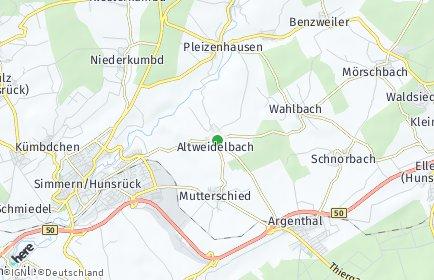 Stadtplan Altweidelbach