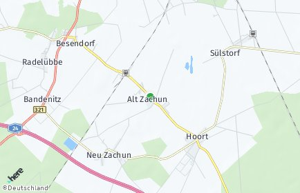 Stadtplan Alt Zachun