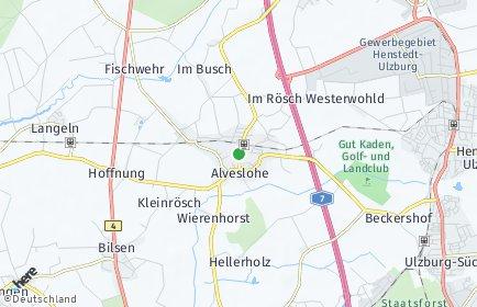 Stadtplan Alveslohe