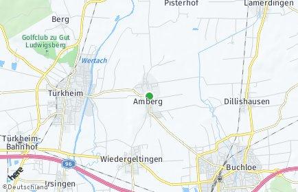 Stadtplan Amberg (Unterallgäu)