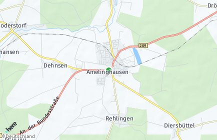 Stadtplan Amelinghausen