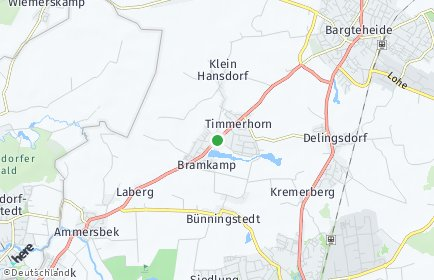 Stadtplan Ammersbek