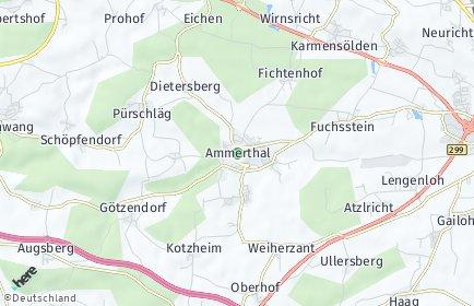 Stadtplan Ammerthal
