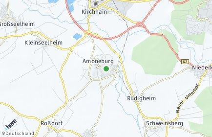 Stadtplan Amöneburg