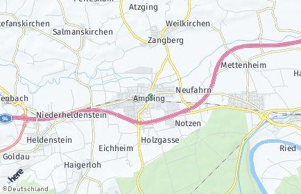 Stadtplan Ampfing