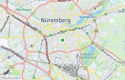 Stadtplan Nürnberg OT Galgenhof