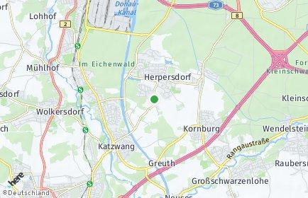 Stadtplan Nürnberg OT Gaulnhofen