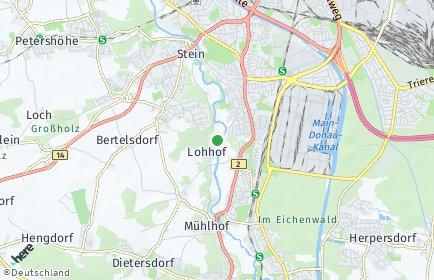 Stadtplan Nürnberg OT Gerasmühle