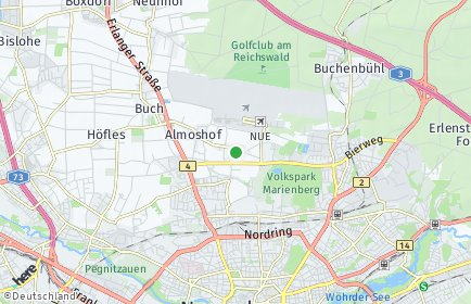 Stadtplan Nürnberg OT Lohe