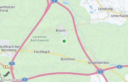 Stadtplan Nürnberg OT Netzstall