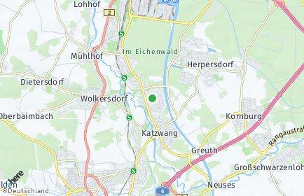 Stadtplan Nürnberg OT Neukatzwang