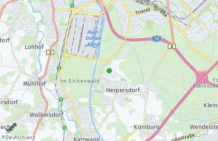 Stadtplan Nürnberg OT Pillenreuth
