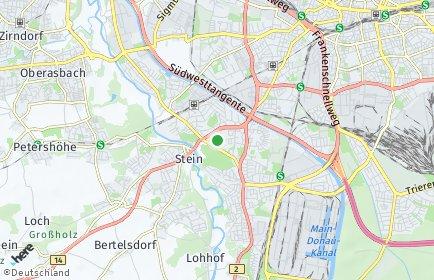 Stadtplan Nürnberg OT Röthenbach bei Schweinau
