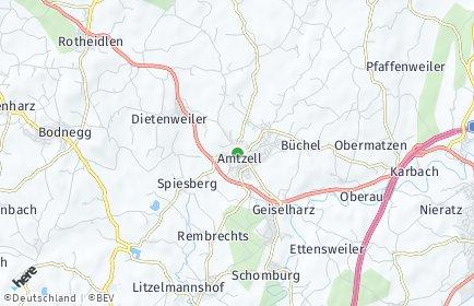 Stadtplan Amtzell