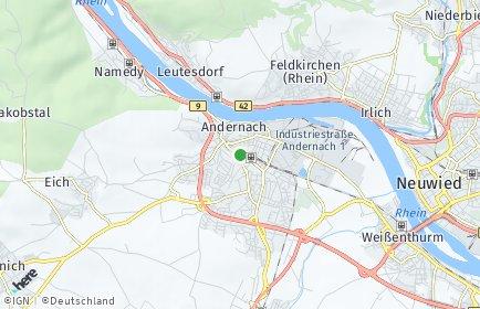 Stadtplan Andernach