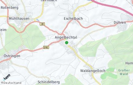 Stadtplan Angelbachtal