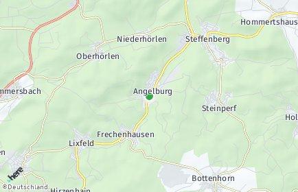 Stadtplan Angelburg