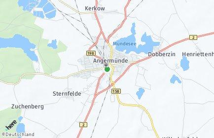 Stadtplan Angermünde