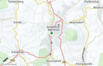 Stadtplan Annaberg-Buchholz