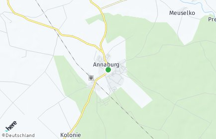 Stadtplan Annaburg