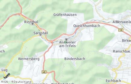 Stadtplan Annweiler am Trifels