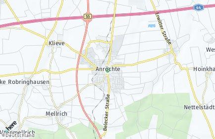 Stadtplan Anröchte
