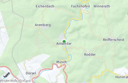 Stadtplan Antweiler
