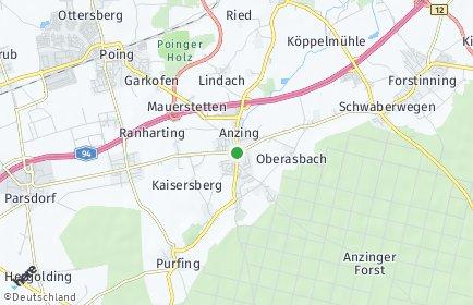 Stadtplan Anzing