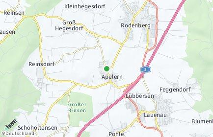 Stadtplan Apelern