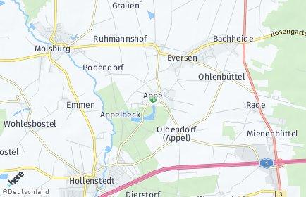 Stadtplan Appel