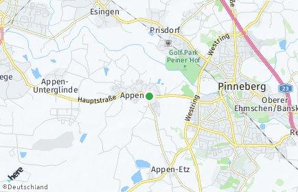Stadtplan Appen