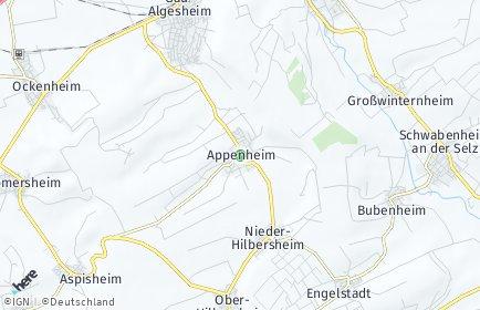 Stadtplan Appenheim