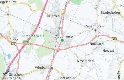 Stadtplan Appenweier