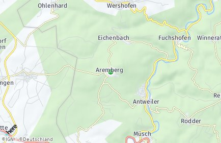 Stadtplan Aremberg