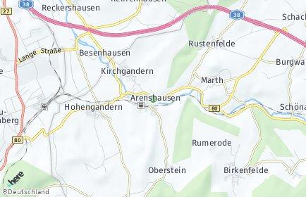 Stadtplan Arenshausen