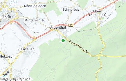 Stadtplan Argenthal