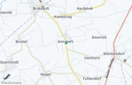 Stadtplan Armstedt