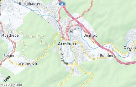 Stadtplan Arnsberg