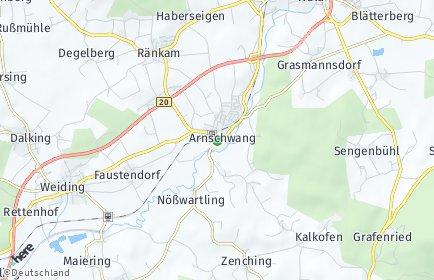 Stadtplan Arnschwang