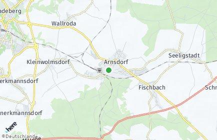 Stadtplan Arnsdorf