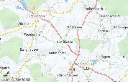Stadtplan Arnshöfen