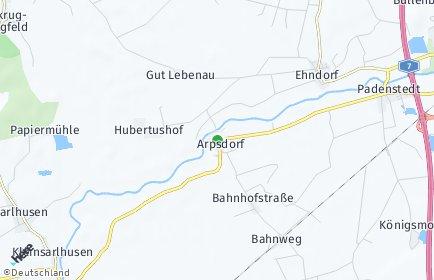 Stadtplan Arpsdorf