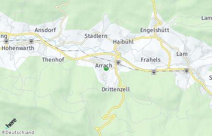 Stadtplan Arrach