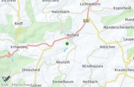 Stadtplan Arzfeld