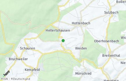 Stadtplan Asbach (Hunsrück)