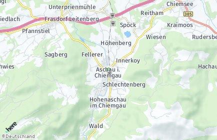 Stadtplan Aschau im Chiemgau